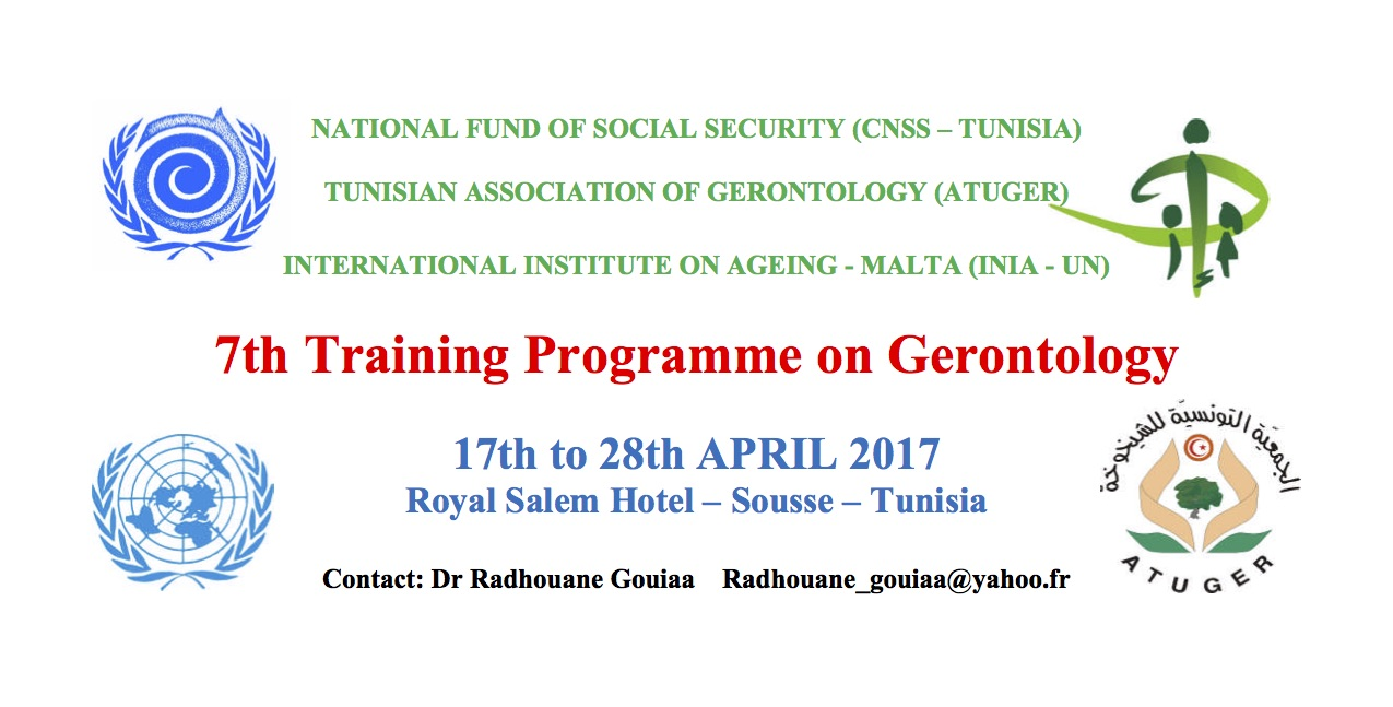 Training Programme T
